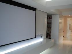 Meuble cin concept salle de cin ma domicile paris - Videoprojecteur salon ...