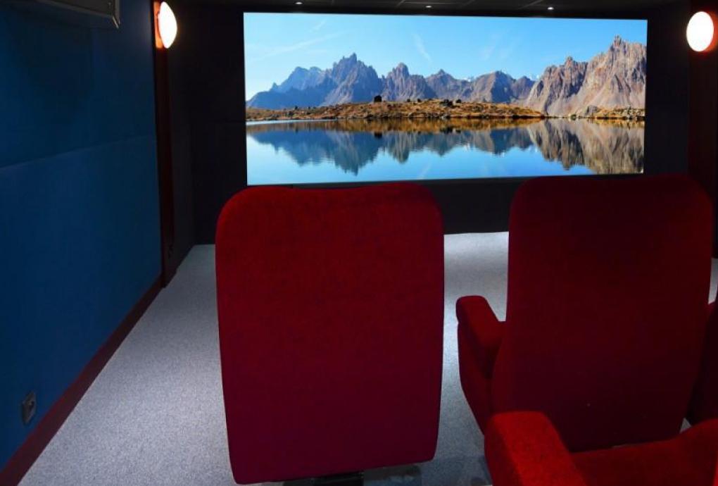 decoration salle de cinema maison top amenager une salle. Black Bedroom Furniture Sets. Home Design Ideas