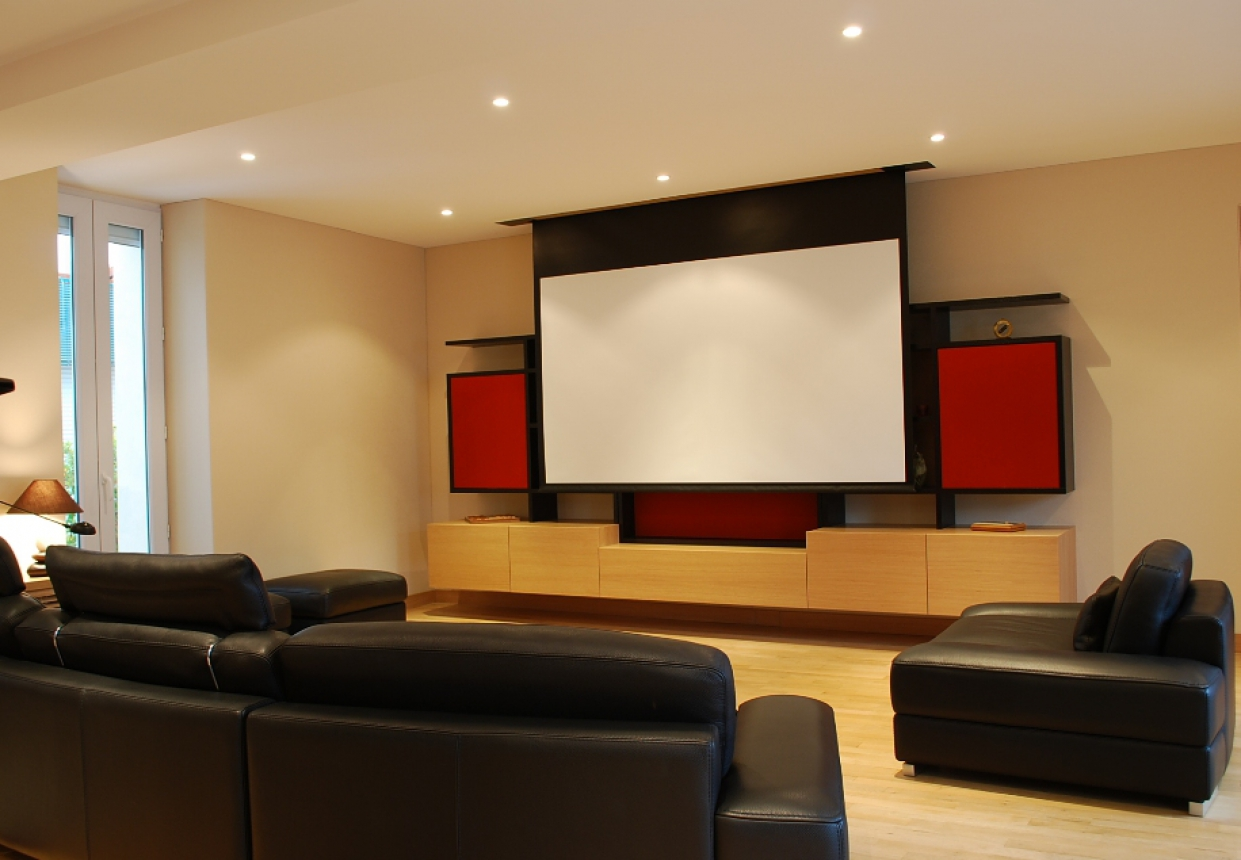 meuble home cinema. Black Bedroom Furniture Sets. Home Design Ideas