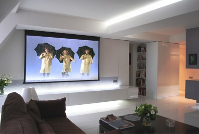 videoprojecteur dans salon of projecteur de salon. Black Bedroom Furniture Sets. Home Design Ideas